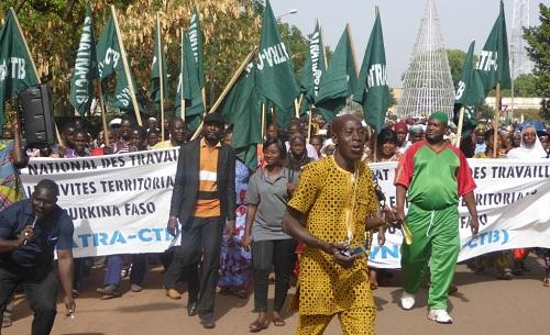 Bobo- Dioulasso: Les agents des collectivités en grève pour 72 heures