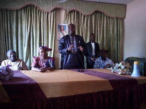 Mairie de l'arrondissement N°3 de Ouaga: Le chef de file de l'opposition réaffirme son soutien à Mmele maire Rainatou Ouédraogo