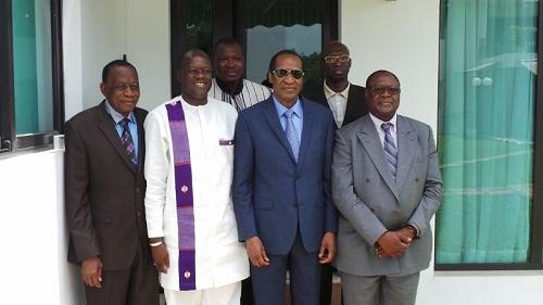 Réconciliation nationale: La CODER a rencontré Blaise Compaoré à Abidjan