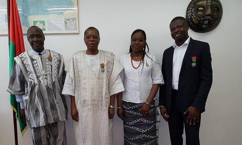 Ambassade du Burkina Faso à Vienne: Remise de distinctions honorifiques et célébration en différé de la Journée internationale de la Femme