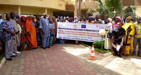 Conflits intercommunautaires: Renforcer la participation des femmes dans la consolidation de la paix au Burkina Faso et au Niger