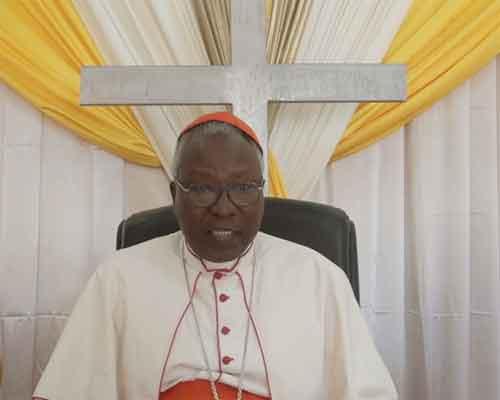 Pâques 2017: Message du cardinal Philippe Ouédraogo