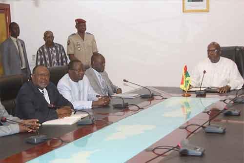 Réconciliation nationale: Roch Kaboré n'apporte aucun soutien à la CODER, selon la présidence du Faso