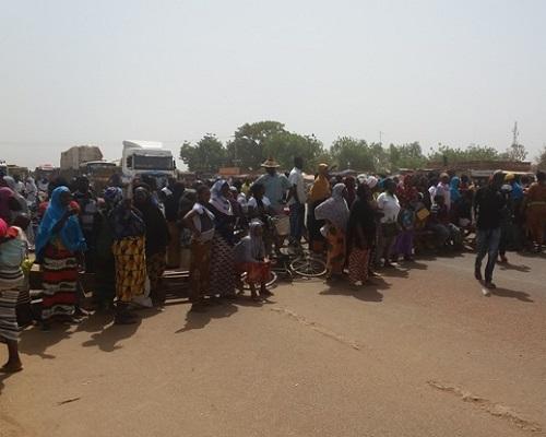 Quartier Saaba de Ouagadougou: Les femmes dans la rue pour protester contre les assassinats en série