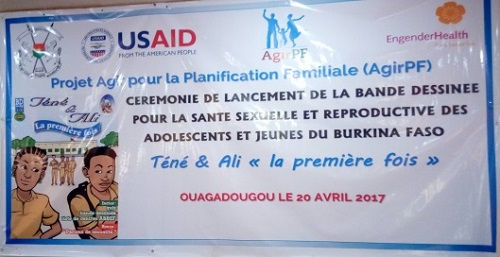 Santé sexuelle et reproductive: La bande dessinée «Téné et Ali. La première fois» lancée à Ouagadougou