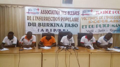 Blessés de l'insurrection populaire: «La démarche actuelle de la CODER pour nous est une insulte au peuple insurgé», Franck Sia président de l'ABIP/BF