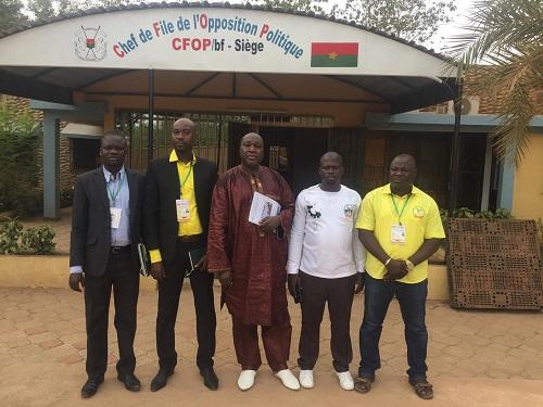 Politique: Le CFOP a reçu une délégation de burkinabè vivant en Côte d'Ivoire