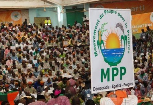 Situation nationale: La section provinciale du MPP-Kadiogo soutient le Gouvernement