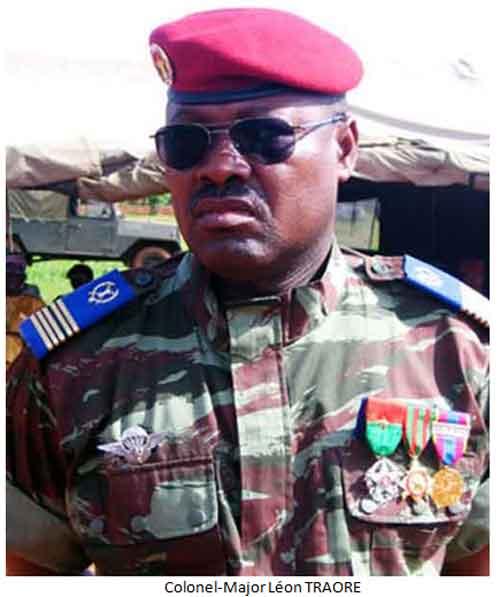 Forces armées burkinabè:  De nouveaux chefs