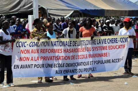 Déguerpissements et amélioration des cadres de vie: La CCVC soutient les luttes des populations de Ouaga