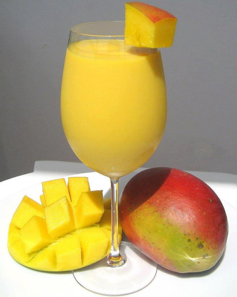 La recette du week-end : Le jus de mangue
