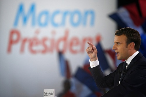Macron, puisque Macron