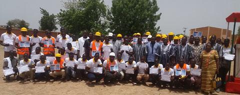 Mine d'or de Kiaka: La société minière B2Gold forme 60 jeunes aux métiers