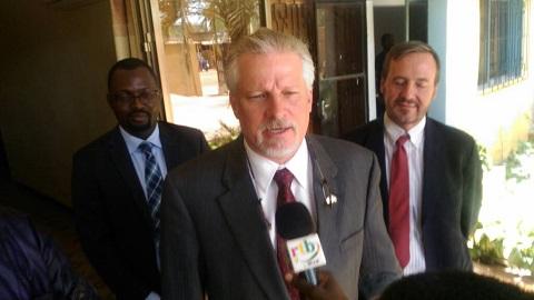 Opposition politique: L'ambassadeur des Etats-Unis a échangé avec Zéphirin Diabré