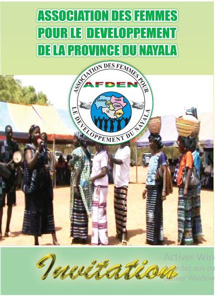 Journée culturelle de l'association des femmes pour le développement de la province du Nayala