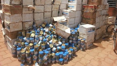 Ouagadougou: Un commerçant déclare à la Police Municipale 12 000 boites de lait périmé dans son magasin