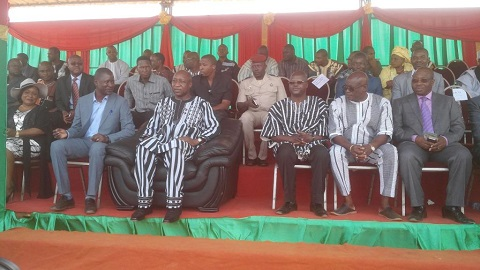 Construction de la cité universitaire de Bobo-Dioulasso, phase II: Le Premier ministre a officiellement lancé les travaux