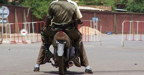 Insécurité à Ouagadougou: Un policier tué par deux individus se déplaçant sur une moto 135