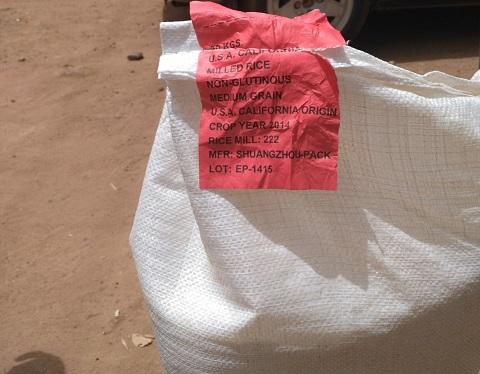 Commercialisation de  «riz en plastique»:  Le gouvernement appelle à la vigilance