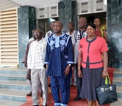 Conseil national des organisations de la société civile: Une délégation était chez le Premier ministre