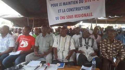 Projet de construction du Centre Hospitalier Universitaire à Bobo-Dioulasso: Les populations et le gouvernement à bâtons rompus sur le choix du site