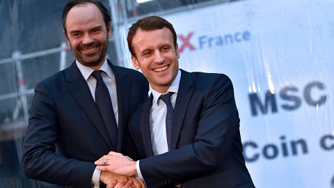 France: le premier gouvernement du quinquennat Macron dévoilé