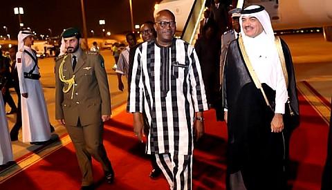 Séjour du Président du Faso au Qatar: Roch Marc Christian KABORE s'entretient avec l'Emir Tamin Ben Hamad Al THANI
