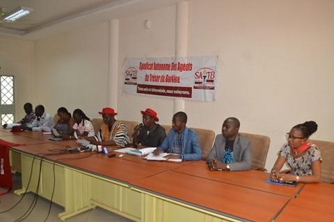 Syndicat autonome des agents du trésor du Burkina: Des arrêts de travail encore en vue