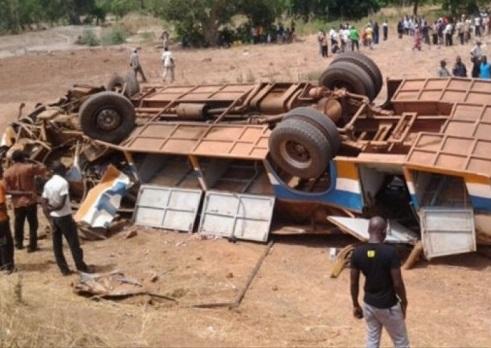 6 morts dans un accident entre Nobéré et le pont Nazinon