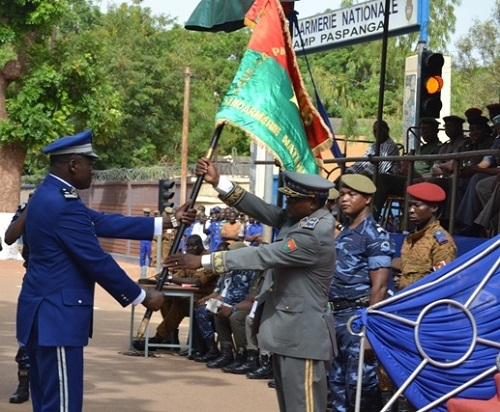 Gendarmerie nationale: Le Colonel Marie Omer B. Tapsoba désormais aux commandes