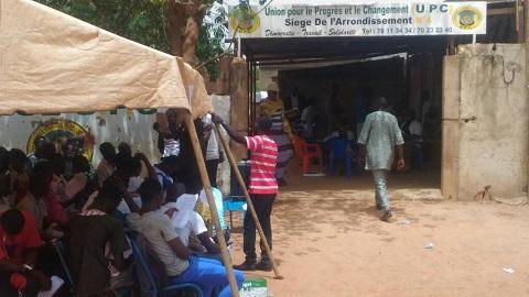 Campagne électorale/Arrondissement 4: L'UPC opte pour des œuvres sociales