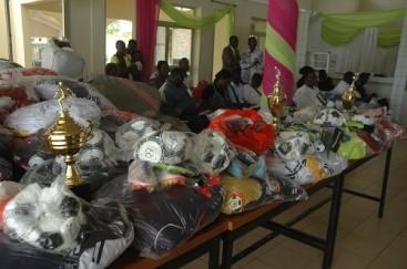 Coupe de l'Assemblée nationale: La fédération burkinabè de football offre des équipements sportifs