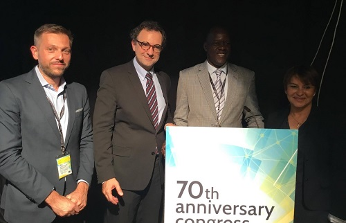 Internationale libérale: Gilbert Noël Ouédarogo reconduit au poste de Vice-président