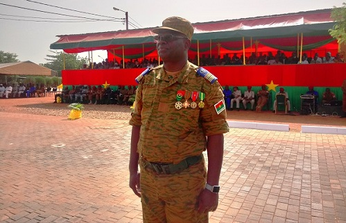 Groupement central des armées : Colonel-Major Moïse Minoungou aux commandes