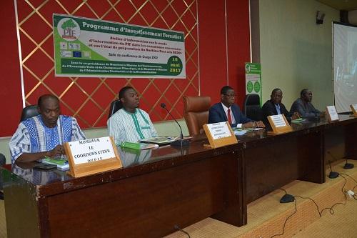 Programme d'investissement Forestier dans les communes: Les acteurs s'accordent sur les modalités et les actions préalables à mener