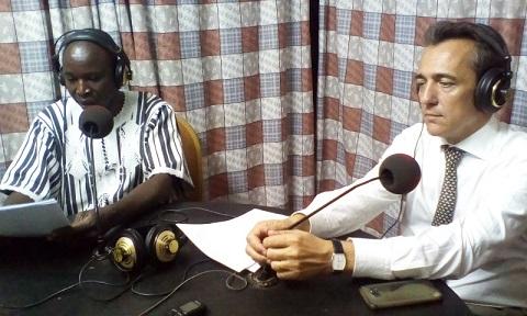 Séjour de l'ambassadeur de France au Nord: La radio la «Voix du Paysan» encouragée