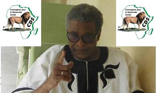 La Convergence pour la Démocratie Sociale (CDS) annonce le décès du Dr Valère D. Somé