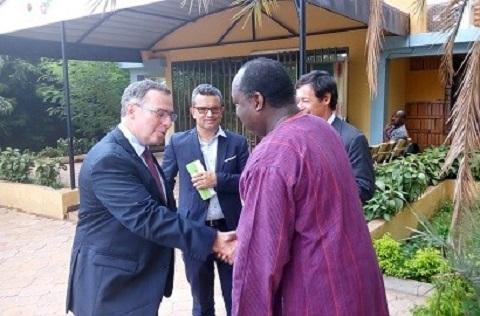 Une délégation de l'Union européenne était chez Zéphirin Diabré