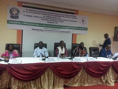 Lutte contre le blanchiment de capitaux: Le Burkina prépare l'évaluation par les pairs de son dispositif