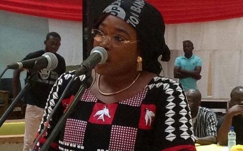«…En dehors des accusations non fondées, ce pouvoir n'a rien à proposer comme projet de développement à ce peuple», affirme le porte-parole de la Coalition Bori-Bana, Safiatou Lopez
