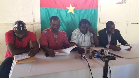 Situation nationale: Tous unis pour un Burkina apaisé (TOUBA) dénonce les grèves à répétitions
