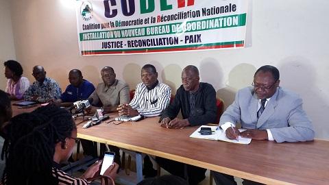 Burkina: Les partis de la CODER rejettent l'avant-projet de Code électoral