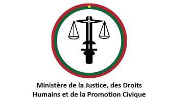 Incidents à Manga: le ministère de la justice réagit