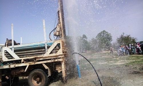 PNDES: La composante eau et assainissement (2017) lancée à Diapangou