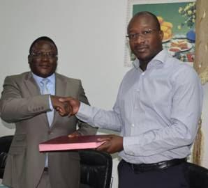 Chambre des mines du Burkina: Toussaint Bamouni installé dans ses fonctions de Directeur exécutif