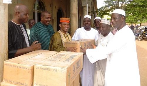Ramadan 2017: Une délégation de l'UPC a rendu visite à la communauté musulmane