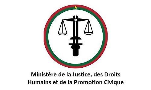 Communiqué du comite de selection des commissaires de la commission nationale des droits humains a l'attention des composantes de la CNDH