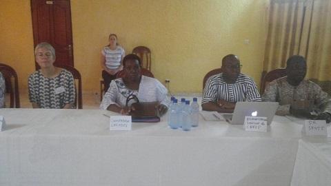 Lutte contre le paludisme au Burkina Faso: les acteurs du projet MIRA ont fait le bilan de la première année de leurs activités à Banfora.