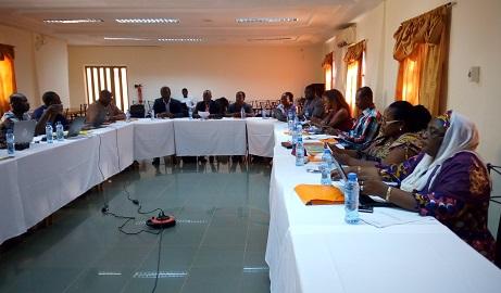 Projet d'expérimentation de la délégation des tâches dans le domaine de la planification familiale: Le comité de pilotage a organisé sa 1ère session