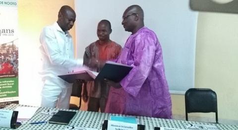 Association A2N: Signature d'un protocole d'accord de partenariat avec les collectivités territoriales du  Sahel
